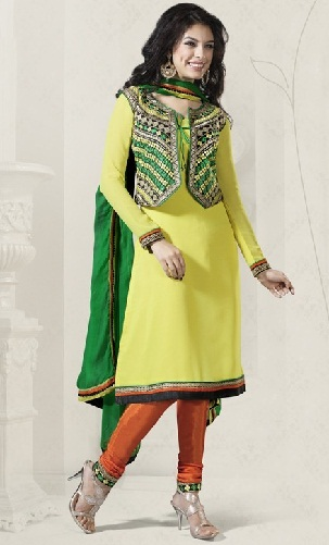 Salwar Suit with Jacket