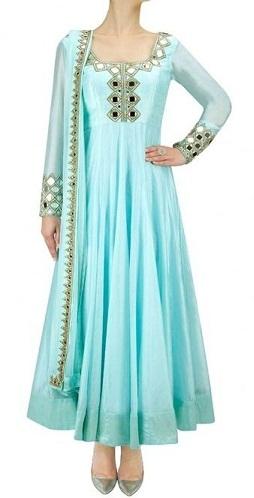 Salwar Suit with Mirror Work