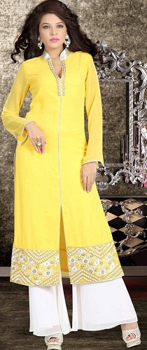 Salwar Suit with Palazzo