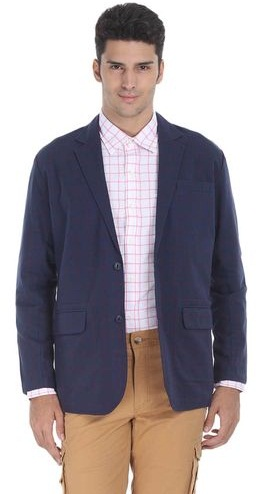Semi-Formal Cotton Blazer