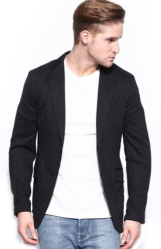 Semi-formal Black Blazers