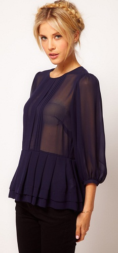 Sheer Top for Women
