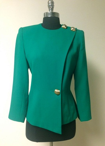 Short Green Blazer