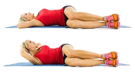 home exercises to reduce belly fat in 7 days