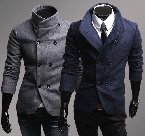 Side buttons blazer