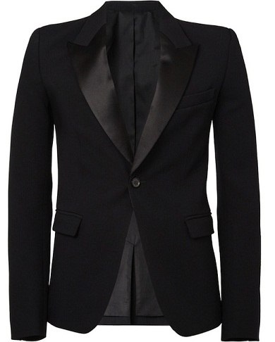 Silk Black Blazers