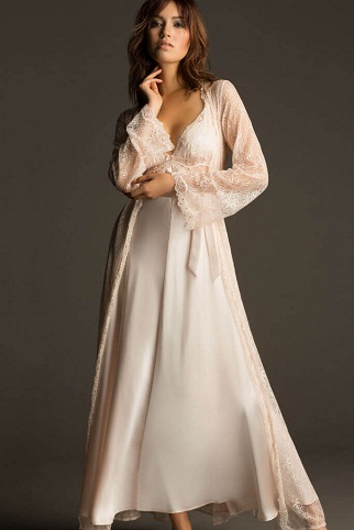 Silk Night Wear for The First Night