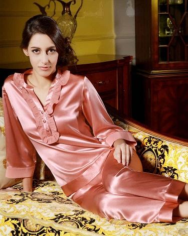 Silky Night Pajama Suit