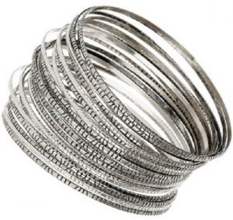 Silver Bangles for Girls