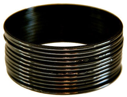 Simple Black Metal Bangles