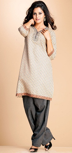 Simple Plus Size Salwar Suit