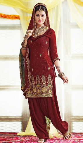 Simple Traditional Style Suit