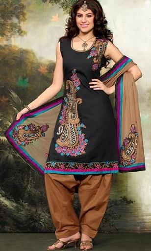 Sleeveless Designer Salwar Kameez Design 10