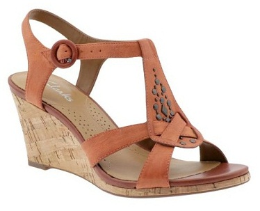 Stone Studded Clarks Sandals for women