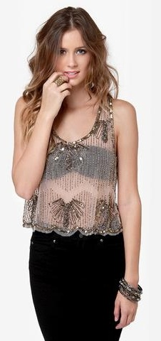 Stylish Sheer Top