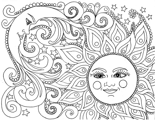 15 Simple Characters of Printable Colouring Pages for Free