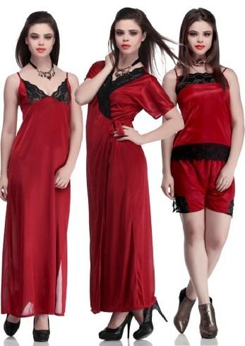 Three piece wedding night suit