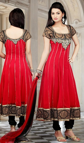 Traditional Designed Plus Size Salwar Kameez