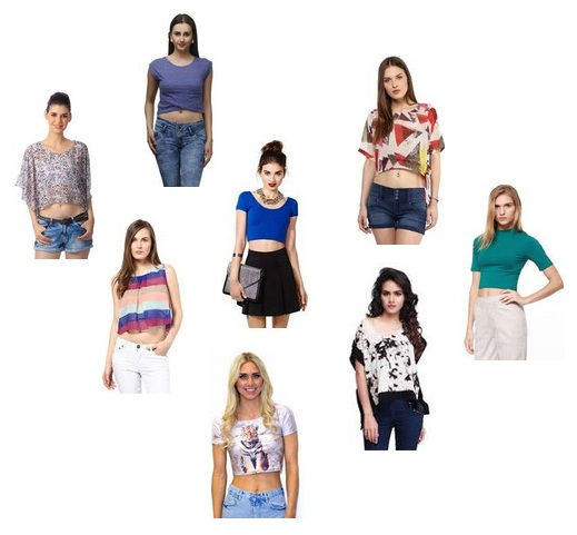 Trendy Designs of Crop Tops in Fashion
