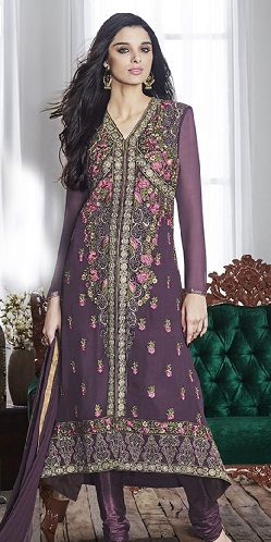 V Neck Designer Salwar Suits