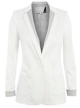 White Blazer Jacket