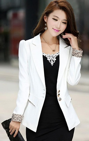White Blazer for Ladies