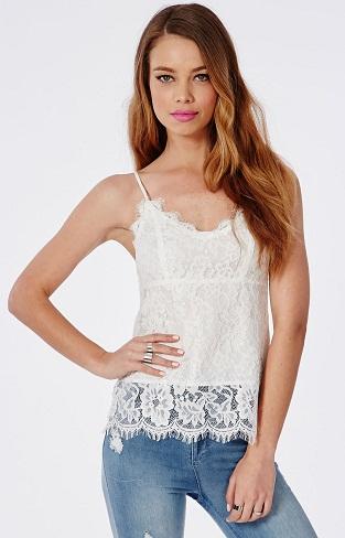 White Camisole Top