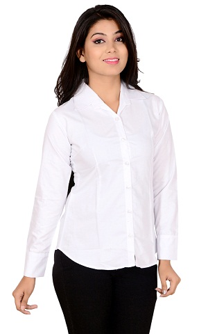 White Shirt Top