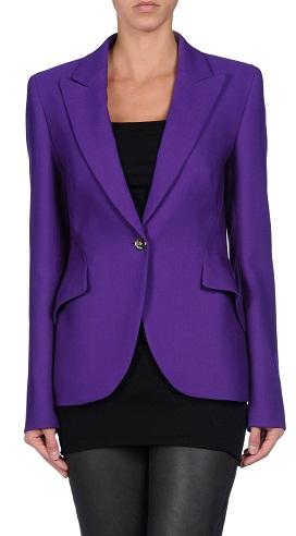 Women's Purple Blazer