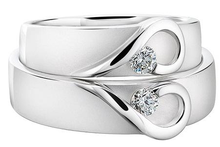 1 Carat Diamond Couple Ring