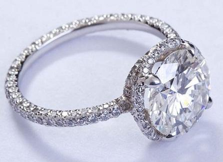 3 Carat Diamond Solitaire Ring