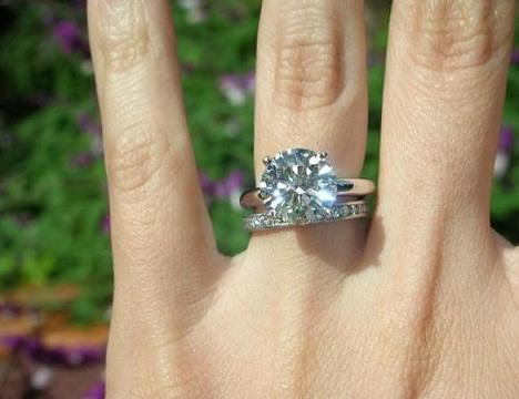 3 Carat Pair Diamond Ring
