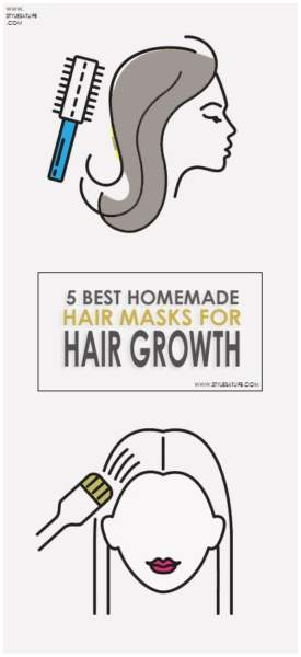 Homemade Hair Masks for Hair Growth