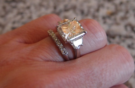 5 Carat Radiant Cut Diamond Ring