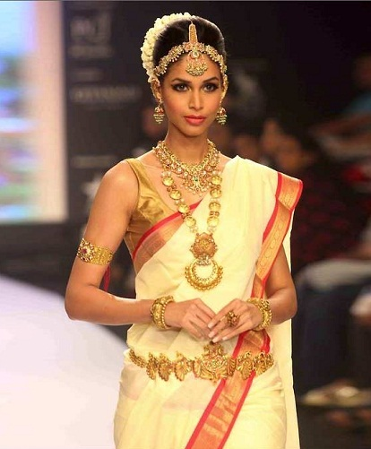 A Sleeveless South Indian Bridal Blouse