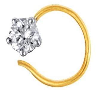 Adjustable Diamond Nose Ring