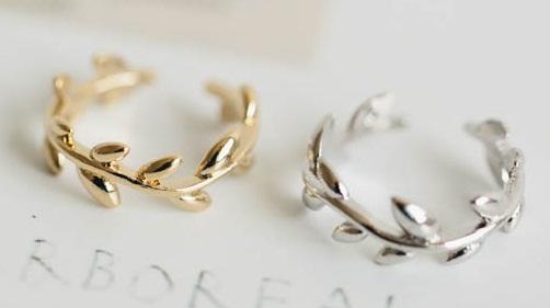 Adjustable leaf couple rings