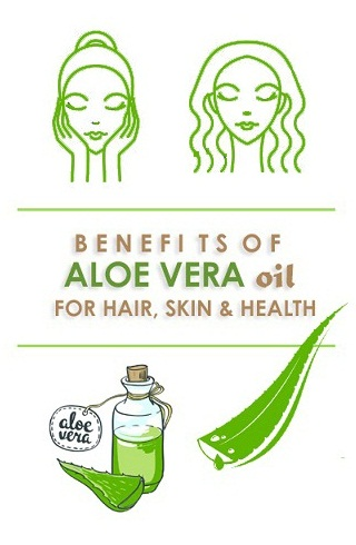 Aloe Vera Oil - Benefits For Hair, Skin And Health