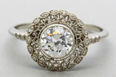 Art Nouveau Antique Ring