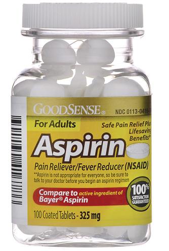 Aspirin For Adult's Fever