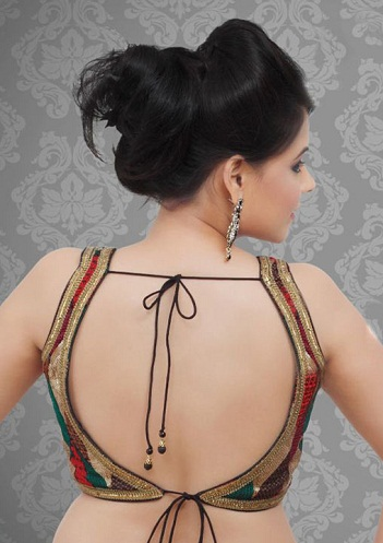 Backless Readymade Blouse
