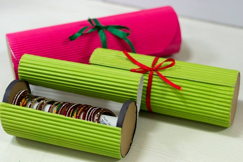 Bangle Box From Corrugated Papers