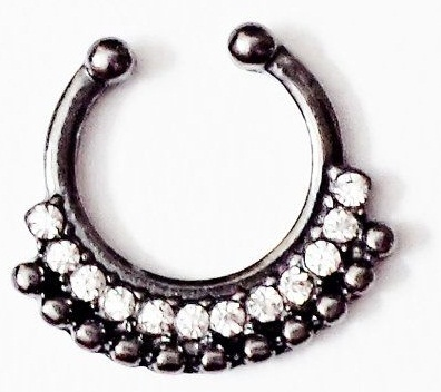 black nose rings