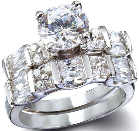 Bridal Couple Diamond Rings