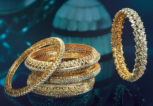 Bridal diamond Bangles
