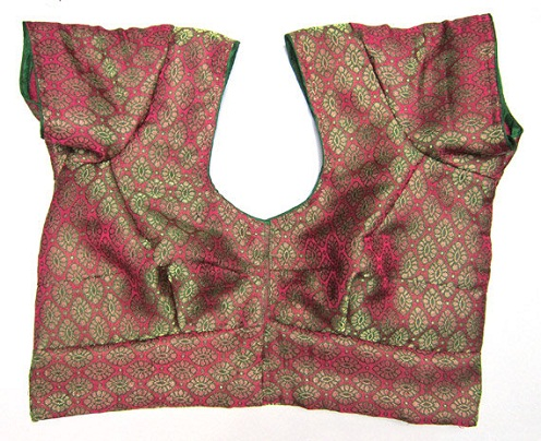 Brocade Saree Readymade Blouse