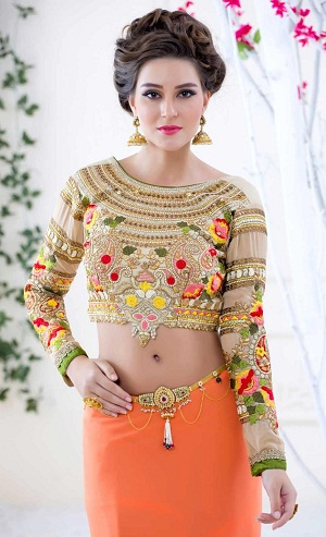 Captivating Heavy Embellished Blouse