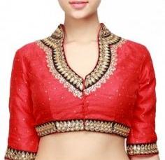 collar-neck-blouse-designs