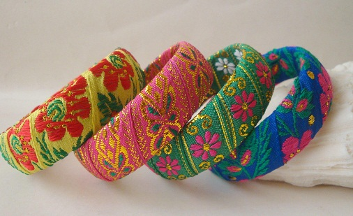 Cloth Handmade Bangles