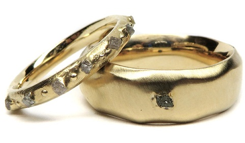 Couple's Designer Wedding Rings